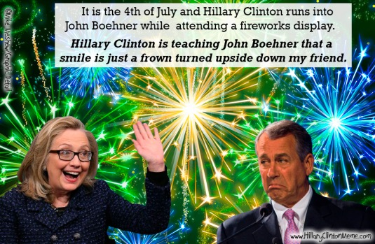 Hillary Clinton John Boehner Meme