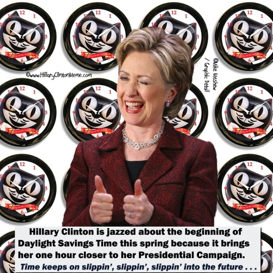 Hillary Clinton Loves Daylight Savings Time